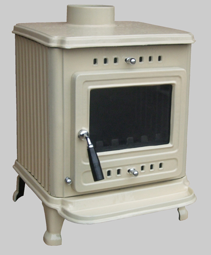 Enamelled Lark stove cream