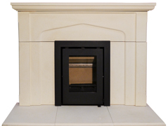 Newbourne Inset 40 in limestone surround 2