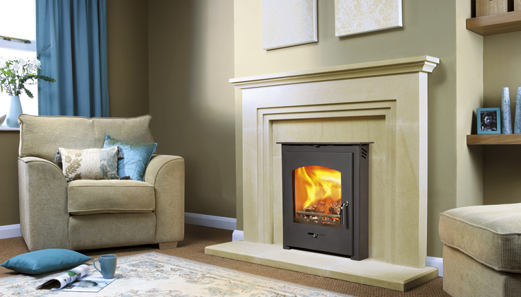 Pevex Slimline 30 Inset in Hazelmere  fire surround