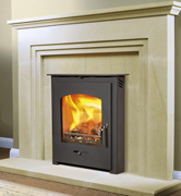 Newbourne Slimline 30 Inset in Hazelmere  fire surround 2