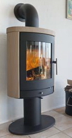 Scanline 500 wood burning stove